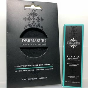 Dermasuri Deep Exfoliating Face & Body Set